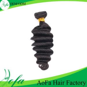 Aofa 7A Grade Ocean Wave Hair, Virgin Human Hair Extension pictures & photos