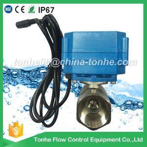 """Dn20 3/4"""" 2 Way Electric 12V 24V Motor Operated Motorised Motorized Ball Valve pictures & photos"""