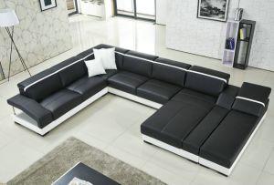 European Modern Leather Sofa pictures & photos