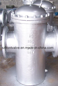 Cast Steel Flanged End T - Strainers (Tee strainer) pictures & photos
