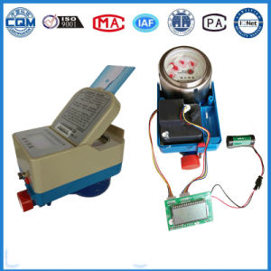 IC Card Smart Prepaid Type Water Meter pictures & photos