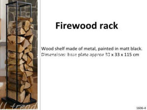 New Design Fireplace Wood Holder pictures & photos