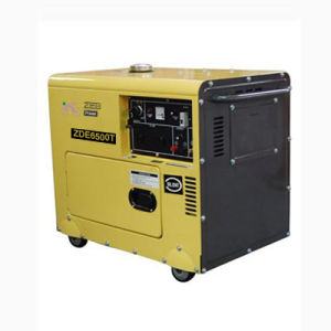 5kVA Silent Type Portable Diesel Generators (ZDE6500T) pictures & photos