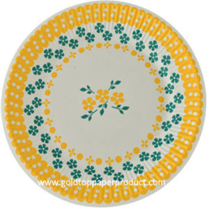 """Round Dinner Paper Plates Size 7"""" & 9"""" pictures & photos"""