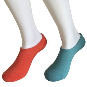 Half Cushion Poly Fashion Basic Chuck Socks (JMPCK06) pictures & photos