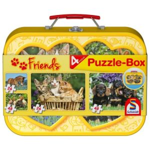 Hotsale Paper Jigsaw Puzzle in Handle Box pictures & photos