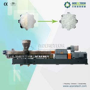 Twin Screw Plastic CaCO3 Compounding Extrusion Line pictures & photos