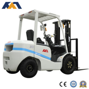 Tcm Appearance 4ton Diesel Forklift Truck with Japanese Engine Sell Well in Dubai pictures & photos