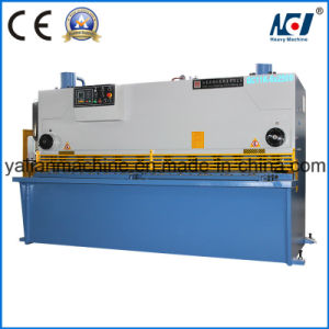 QC11k-6X2500 CNC Hydraulic Guillotine Shearing Machine