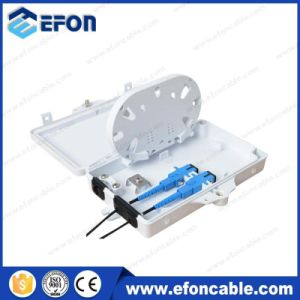 Mini 2 Port Plastic Fiber Optical Dsitribution Set Top Box (FDB-02A) pictures & photos