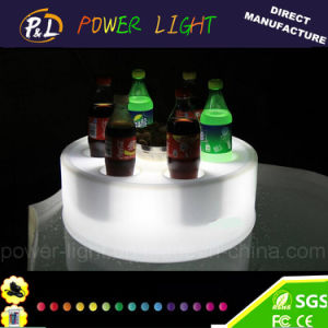 Bar Furniture Flashing Multicolor Changing LED Wine Tray pictures & photos