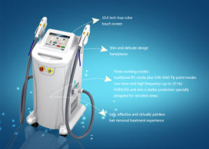 Powerful Two Handles IPL Shr / Shr Opt Hair Removal Machine pictures & photos