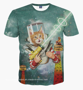 Wholesale New Design 3D Printed T-Shirt (A027) pictures & photos