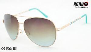 Fashion Hot Sale Metal Sunglasses for Accessory. UV400 CE FDA Km15189 pictures & photos