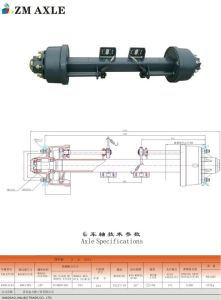 Trailer Part - Jap Type Axle (ZM Type AXle) pictures & photos