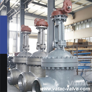 Flange RF or Bw Cast & Forged Stainless Steel Industrial Wedge Gate Valve with Rising Stem pictures & photos