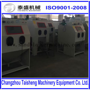 Industrial abrasive sandblast cabinet/High quality Stainless steel Sandblast machine