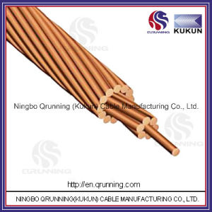 Bare Copper Conductor Earth Conductor or Ground Conductor