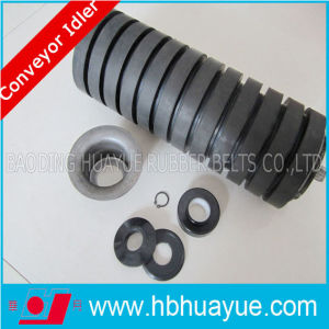 89 Tube Hot Sale Cema Rubber Coated Impact Conveyor Rollers pictures & photos