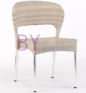 New Products Fascinating Non-Wood Aluminum PE Rattan Arm Chair pictures & photos