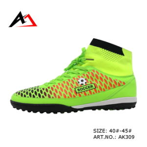 Football Shoes Outdoor High Ankle Soccer Shoe for Men (AK309) pictures & photos