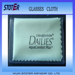 Microfiber Eye Glasses Cleaning Cloth pictures & photos