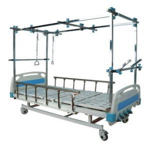 Hospital Bed -Orthopedic Manual Care Bed (Double Tratction) pictures & photos