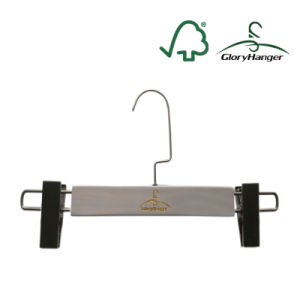 Cusomized Pants Hanger with Clips for Display Store (GLWH209) pictures & photos