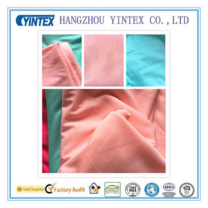 "57""Handmade Plain Dyed 100% Polyester Interlock Fabric, 50d/72f pictures & photos"