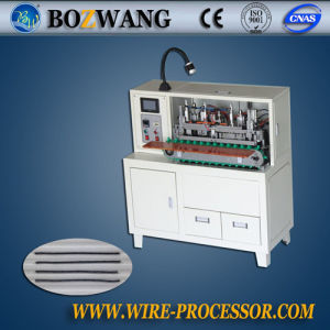 Semi-Automatic Wire Stripping, Twisting and Tinning Machine pictures & photos