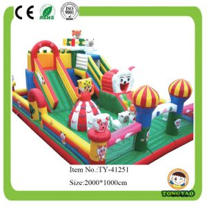 Inflatable Jumping for Children with Slide (TY-41251) pictures & photos