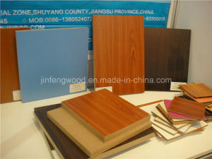 Carb Solid Color /Wood Grain Color 1220*2440mm Melamine MDF pictures & photos