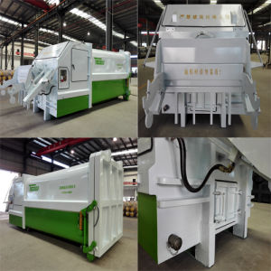Mobile Garbage Compactor for Collecting Household Waste pictures & photos