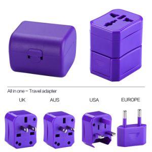 USA/UK/EUR/Aus Plug Universal Travel Adapter, Ce/FCC/RoHS Mark