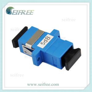 Sc/Upc Fibre Optic Cable Connector Attenuator Adapter pictures & photos