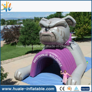 Inflatable Football Helmet Tunnel for Sports Football Game