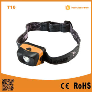 T10 1W Ipx4 Waterproof High Power LED Headlamp pictures & photos