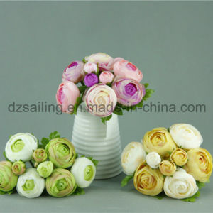 Hot Selling Decorative Artificial Flower of Ranunculus Bouquet (SF11701D) pictures & photos