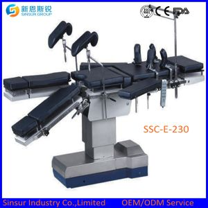 High Quality Fluoroscopic Hospital Use Electric China Operating Tables pictures & photos