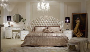 Classical Wooden Bedroom Furniture-Mg-C2001b-2 Bed