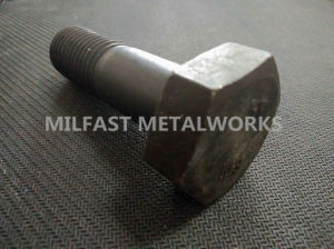 DIN 6914 Gr, 10.9 Heavy Hex Bolt Black Finish pictures & photos