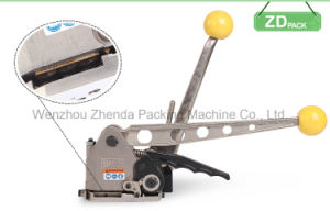 Manual Steel Strap Buckleless Combination Machine Packing Tool for Metal Strip 25mm pictures & photos