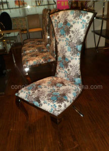 Fabric Upholstered Dining Room Chairs Cover Cheap B8065 pictures & photos