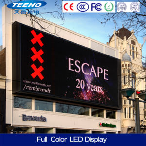 Wall-Mounted Outdoor P10 Advertising LED Display Screen pictures & photos