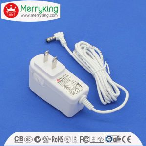 DOE VI Energy Efficiency UL FCC 24V 0.65A AC DC Adapter for Humidifier pictures & photos
