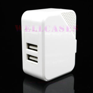 Wholesale High-Quality Mobile Phone Dual USB Travel Wall Adapter/Charger pictures & photos