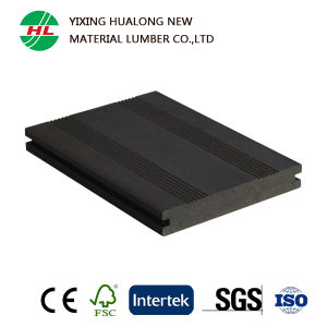 Solid WPC Decking for Outdoor Use (M166) pictures & photos