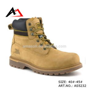 Leather Safety Shoes Feet Protection for Men Shoe (AKAS5232) pictures & photos