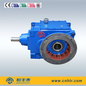 B Series High Speed Helical Bevel Reduction Gearbox in Wenzhou pictures & photos