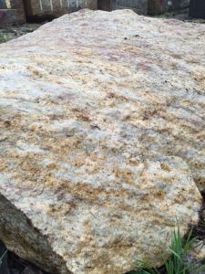 Wholesale Orlando Gold Granite Slab pictures & photos